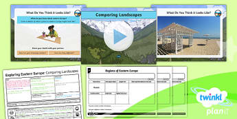 PlanIt - Geography Year 5 - Exploring Eastern Europe 2: Comparing Landscapes Lesson Pack