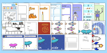 KS1 Space Lesson Plan Ideas and Resources Pack - space, KS1
