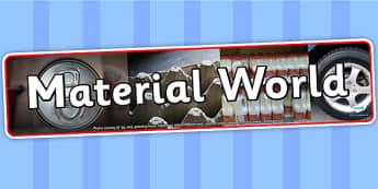 Material World IPC Photo Display Banner - material world, IPC display banner, IPC, material world display banner, IPC display, material world banner