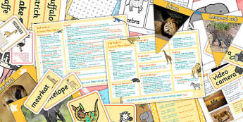 Safari KS1 Lesson Plan Ideas and Resource Pack - safari, ks1 pack