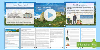 Great Expectations Chapter 25 Lesson Pack - Requests English KS3/4