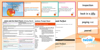 Y4 James and the Giant Peach: Activity Plan 8 PlanIt Guided Reading Pack to Support Teaching on James and the Giant Peach - James and the Giant Peach, roald dahl, insects, carousel, y4, year 4, ks2, english, reading, guided