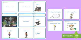 World Book Day Story Cards - World Book Day, characters, plot, setting, problem, solution, story telling, writing, stories, cards