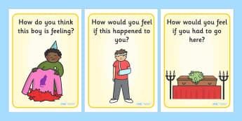 Empathetic Discussion Posters - empathetic, discussion posters, empathy, diversity, acceptance, tolerance, good behaviour, differences, understanding
