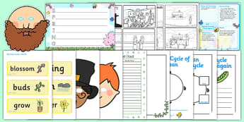 KS1 Springtime Lesson Plan Ideas and Resource Pack - spring, KS1