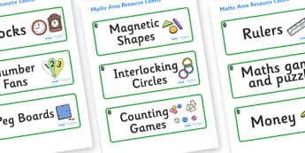 Opal Themed Editable Maths Area Resource Labels - Themed maths resource labels, maths area resources, Label template, Resource Label, Name Labels, Editable Labels, Drawer Labels, KS1 Labels, Foundation Labels, Foundation Stage Labels, Teaching Labels