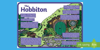 Hobbiton Display Poster - new zealand, aotearoa, hobbiton, lord of the rings, the hobbit, landmarks, places, my place