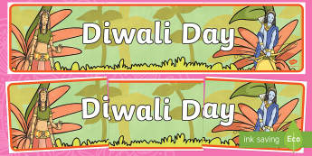 Diwali Day Display Banner