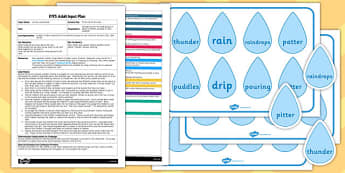 Pitter Patter Pictures EYFS Adult Input Plan and Resource Pack
