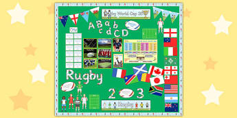Rugby World Cup Display Pack - rugby world cup, display, pack
