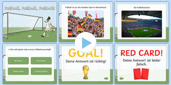 Football in Germany PowerPoint