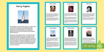 Deaf Awareness Famous People Fact File-Scottish