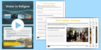 Water in Religion Activity Pack-Scottish
