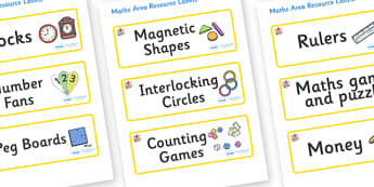Lily Themed Editable Maths Area Resource Labels - Themed maths resource labels, maths area resources, Label template, Resource Label, Name Labels, Editable Labels, Drawer Labels, KS1 Labels, Foundation Labels, Foundation Stage Labels, Teaching Labels