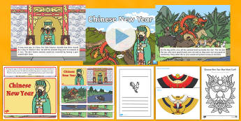 Chinese New Year Stories Resource Pack - Chinese New Year,Australia, new year, celebtrations, nian, the myth of nian
