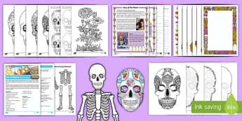 Day of the Dead Activity Pack-Australia