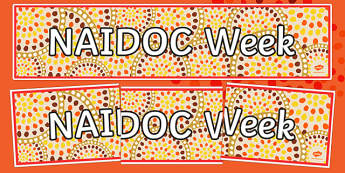 NAIDOC Week Display Banner Display Banner