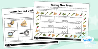 PlanIt - D&T UKS2 - Super Seasonal Cooking Unit Home Learning Tasks