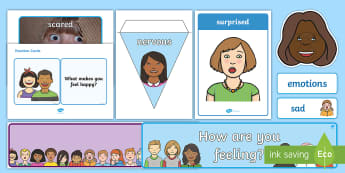 Understanding Emotions Ready Made Interactive Display Pack