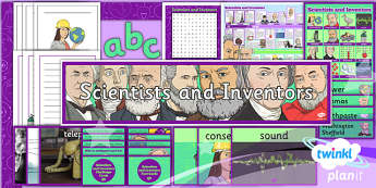 PlanIt - Science Year 4 - Scientists and Inventors Unit Additional Resources - planit, science, year 4, scientists and inventors, additional resources