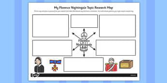 Florence nightingale topic research map research nightingale