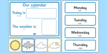 Weather Calendar Mandarin Chinese Translation - mandarin chinese, Weather calendar, Weather chart, weather, calendar, months, days, weather display, date display, rain, sun, snow, fog, cloud