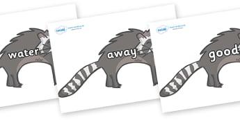 Next 200 Common Words on Raccoons - Next 200 Common Words on  - DfES Letters and Sounds, Letters and Sounds, Letters and sounds words, Common words, 200 common words