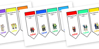 People Who Help Us Editable Bookmarks - people who help us, people who help us bookmarks, people who help us themed bookmarks, firefighter bookmark, police