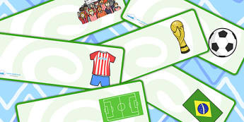 Editable Football Themed Drawer, Peg, Name Labels - Editable Label Templates, football, soccer, Resource Labels, Name Labels, Editable Labels, Drawer Labels, Coat Peg Labels, Peg Label, KS1 Labels, Foundation Labels, Foundation Stage Labels, Teaching