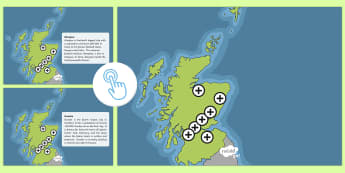Scottish Cities Picture Hotspots - Requests CfE, Picture Hotspots, hotspots, Scottish Cities, Scottish geography, map of Scotland, wher
