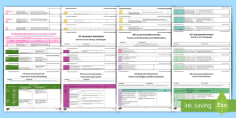 CfE Fourth Level Assessment Benchmarks Resource Pack - CfE Benchmarks, tracking, assessing, progression, numeracy, literacy, health and wellbeing, Science,