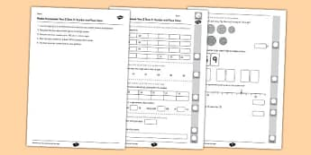 Year 2 Maths Assessment Number and Place Value Term 3 - Maths, Assessment, Place Value