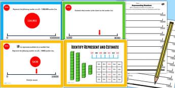 Year 4 Identify Represent Estimate Lesson 2 Teaching Pack - KS2