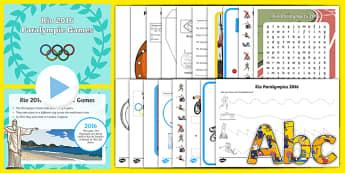 Rio 2016 Paralympics SEN Resource Pack