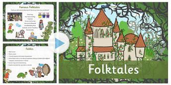 Folktales Information PowerPoint - presentation, folktales, folktales information,