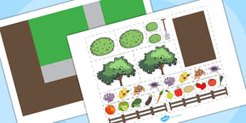 Garden Plan Activity - garden, plan activities, activities, games