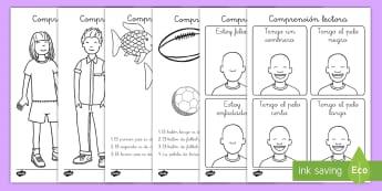 Ficha de actividad: Comprensión lectora - ficha, actividad, comprensión lectora, comprensión de lectura, comprensión, leer, lectura, colore