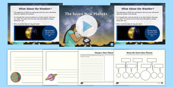 Trappist 1 The Seven New Planets Resource Pack-Australia - NASA, trappist 1, seven new planets, trappist, new galaxy, new planets, earth and space, Describe th