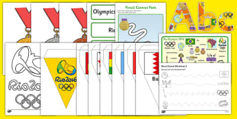 Childminder Rio Olympics Resource Pack