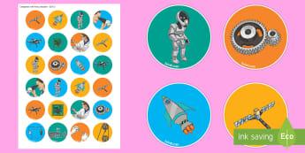 Engineering Week Stickers - engineers week, engineers week, science, technology, women in engineering,