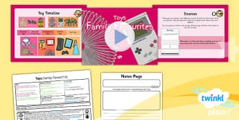 PlanIt - History KS1 - Toys Lesson 2: Family Favourites Lesson Pack