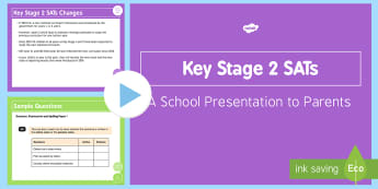 KS2 SATs Parents Information - ks2, sats, 2015, parents, information