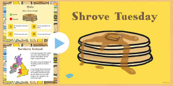 Shrove Tuesday PowerPoint - shrove, Tuesday, powerpoint, pancake