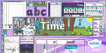 PlanIt - Year 3 French - Time Additional Resources