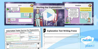 PlanIt Y3 Space: To Support Teaching on The King of Space Lesson Pack - The King of Space, space, Year 3, Y3, English, non-fiction, Johnny Duddle, King of Space, persuasion