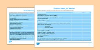 School Council Election Teacher Guidance Notes - school council, election, SMSC, teacher guidance, notes