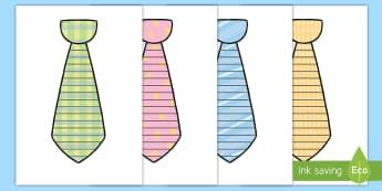 Szablon Liniuszek w kształcie krawata Dzień Ojca - krawat, ojciec, tata, krawata, krawatem, ojca, taty, dzień, czerwiec, czerwca, linie, liniuszek, pi