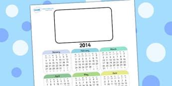 Editable 2014 Calendar - 2014, calender, 2014 calender, editable calender, editable, editable 2014 calender