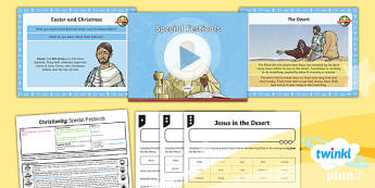 PlanIt - RE Year 4 - Christianity - Lesson 4: Special Festivals Lesson Pack