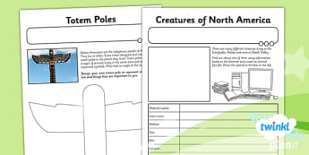 PlanIt - Geography Year 6 - The Amazing Americas Unit Home Learning Tasks - planit, geography, amazing americas